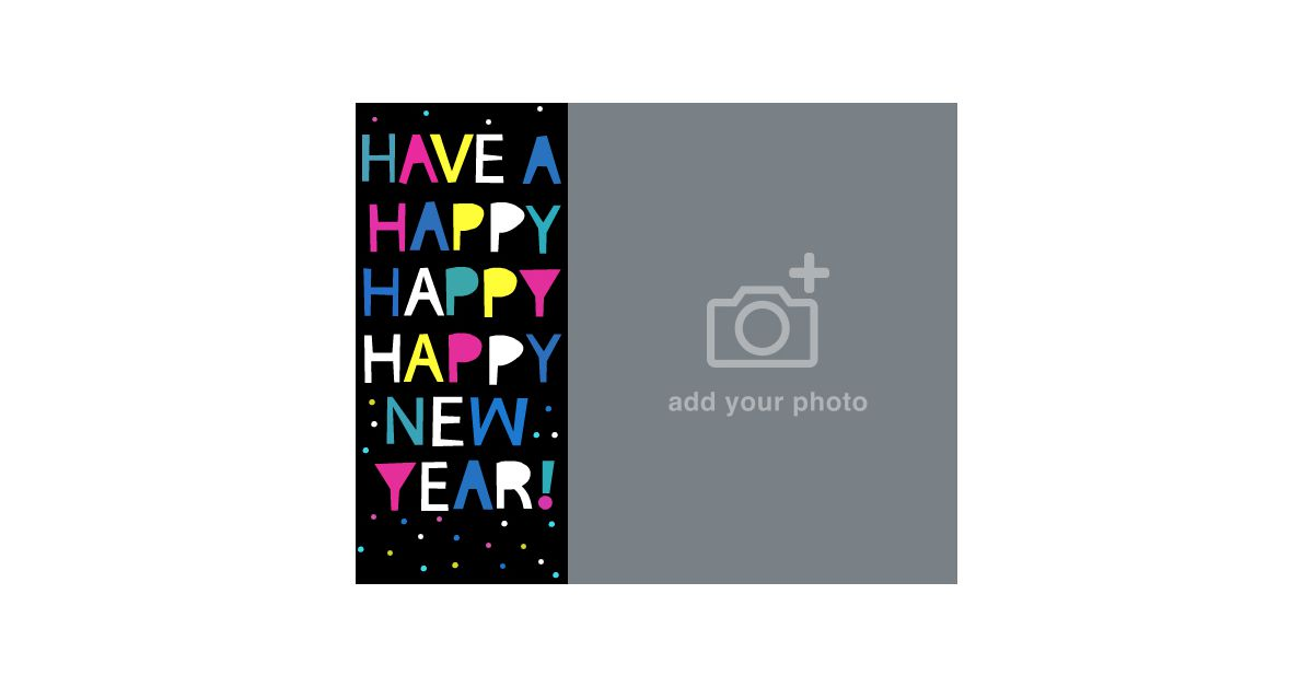 happy happy new year ecard add a photo american greetings