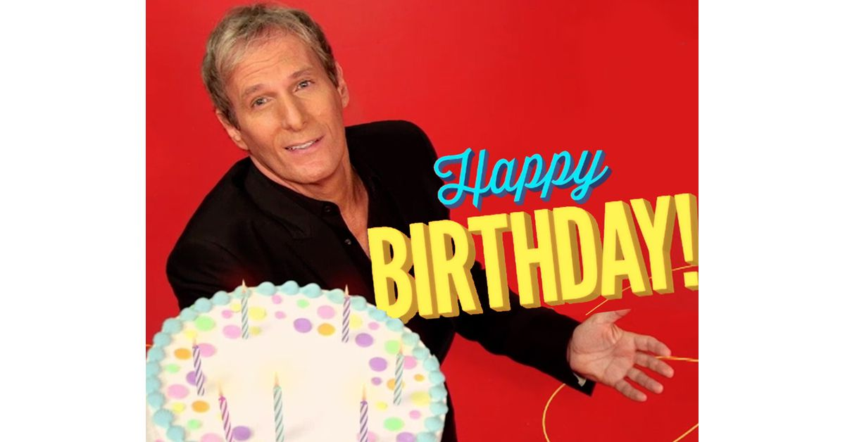 Michael Bolton Fun Birthday Song Ecard Personalize Lyrics