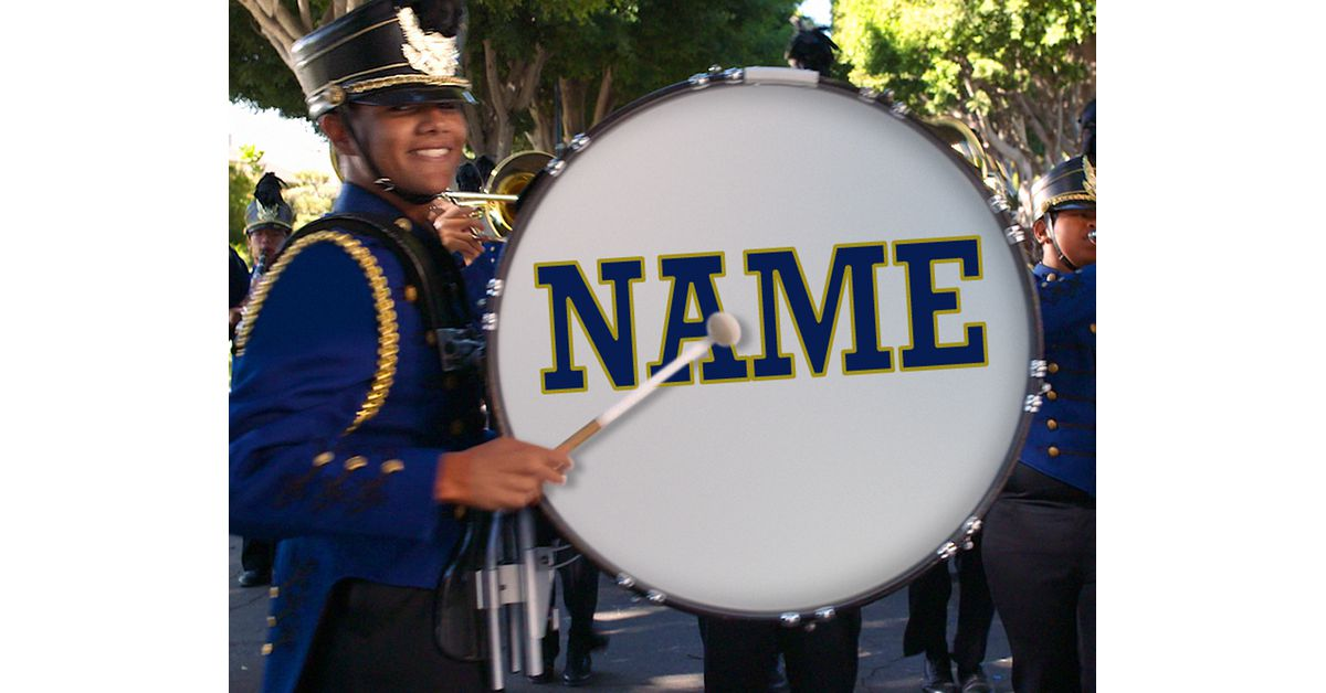 Marching Band Twist And Shout Video Ecard Personalize
