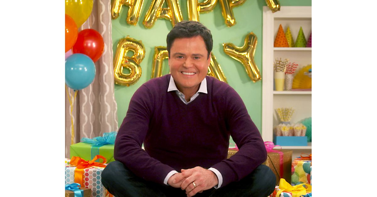 Donny Osmond - A Birthday Song for You Ecard (Personalize Lyrics)
