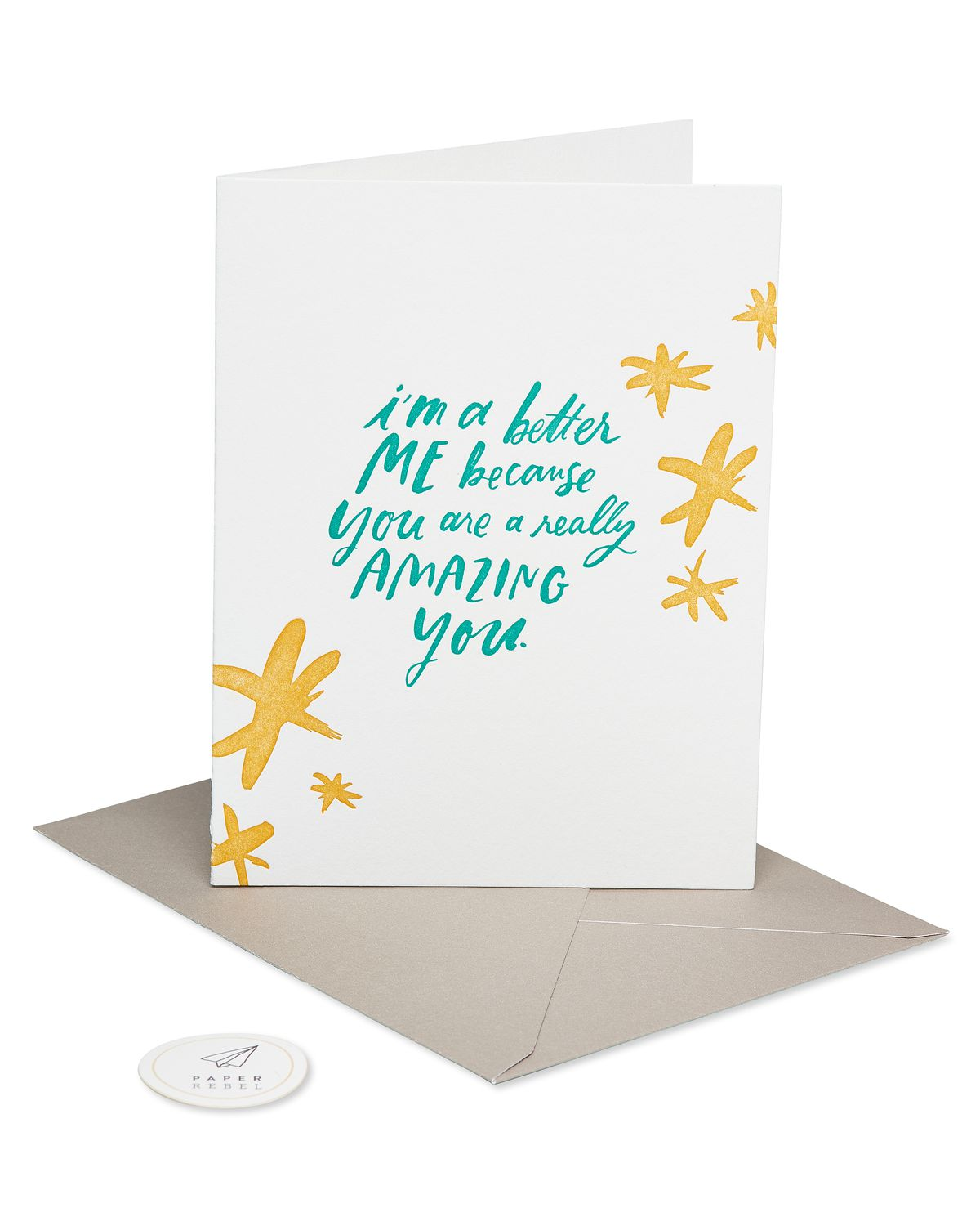 you're amazing mother's day card  paper rebel