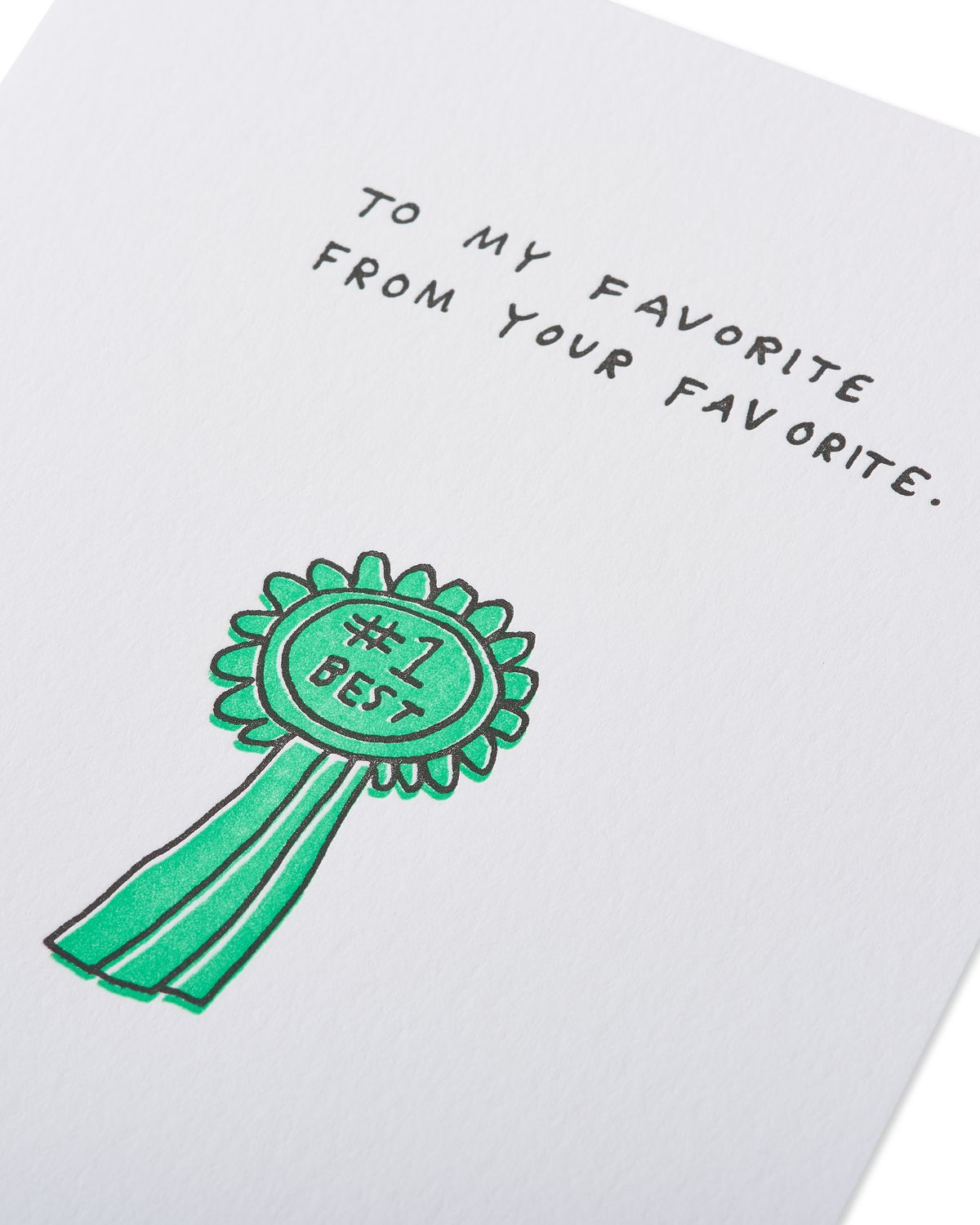 playing favorites mother's day card  paper rebel