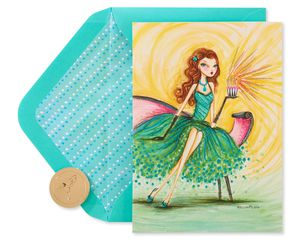 Gorgeous Birthday Greeting Card for Aunt - Designed by Bella Pilar