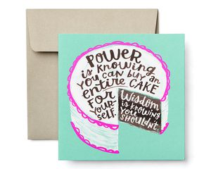 Happiness Greeting Card - Birthday, Thinking of You, Encouragement, Friendship