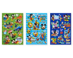 Disney Junior Mickey Mouse Sticker Sheets, 144-Count
