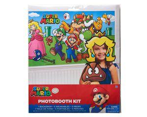 Super Mario Photo Booth Kit