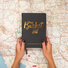 Eccolo Bucket List Journal Lifestyle
