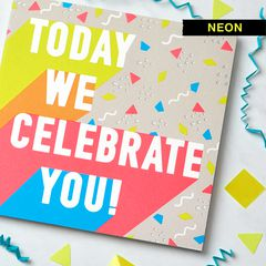 Celebrate Greeting Card - Birthday, Congratulations