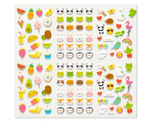 Mini Icons Sticker Sheets, 240-Count