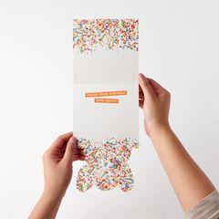 Corgi Birthday Greeting Card for Kids