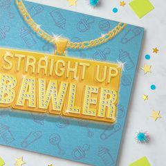 Bawler New Baby Boy Congratulations Greeting Card