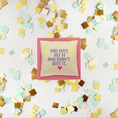 Hit It Anniversary Greeting Card for Couple