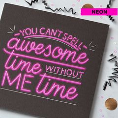 Awesome Time Birthday Greeting Card