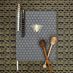 Eccolo Bee Desk-Size Journal Lifestyle