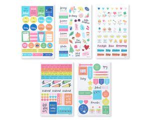 School Agenda Sticker Sheets, 436-Count