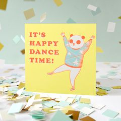 Happy Dance Greeting Card - Birthday, Thinking of You, Encouragement, Congratulations