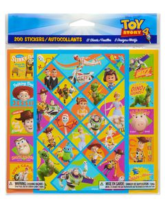 Toy Story 4 Sticker Sheets, 200-Count