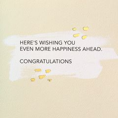 Cheers Greeting Card - Congratulations, Graduation, Wedding, New Job, Promotion, Retirement, New Home