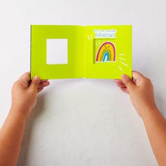 Rain Greeting Card - Support, Thinking of You, Encouragement