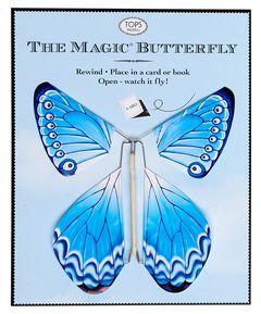 TOPS Malibu Blue Magic Flying Butterfly