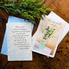 Cherished Sympathy Card Lifestyle