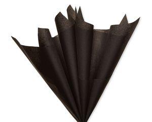 Black and Orange Tissue Paper, 8-Sheets