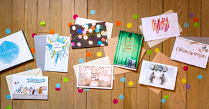 Congratulations Greeting Card Collection Lifestyle