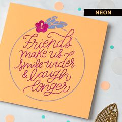 Friends Greeting Card for Her - Birthday, Thinking of You, Encouragement, Friendship, Thank You