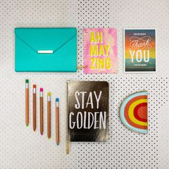 Eccolo Stay Golden Style Journal Lifestyle