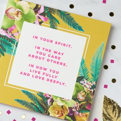 Spirit Greeting Card for Her - Birthday, Thinking of You, Encouragement, Friendship
