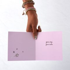 Your Rules Birthday Greeting Card for Her