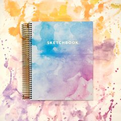 Eccolo Watercolor Sketchbook Lifestyle