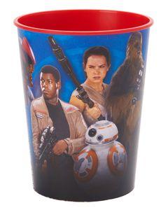 star wars: the force awakens plastic stadium cup 16 oz.
