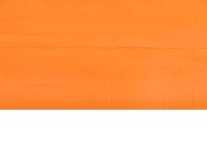 orange plastic table cover 54 in. x 108 in.