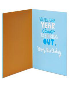 old men birthday card