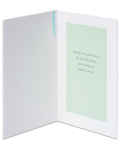 religious christening day card