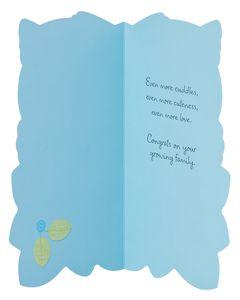 baby boy new baby congratulations card