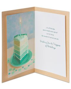 not the years birthday card