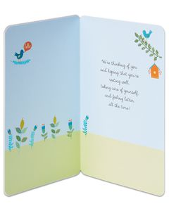we care get well card
