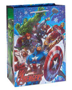medium avengers christmas gift bag