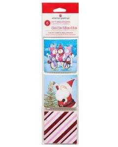 whimsical christmas gift tags 6 ct