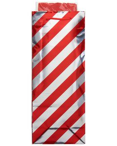 red stripe christmas beverage combo gift bag