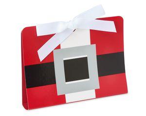 santa christmas gift card holder