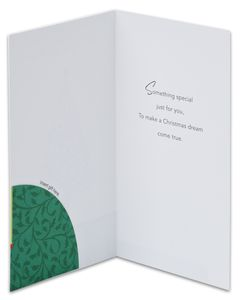 christmas tree christmas card, 6-count