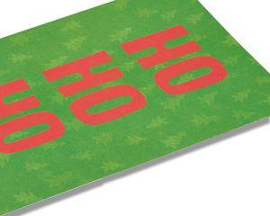 ho ho ho christmas card, 6-count