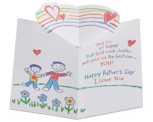 religious father's day card