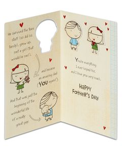 really great guy father's day card