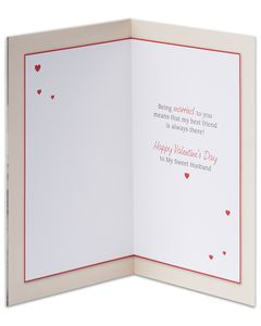 best friend valentine's day card