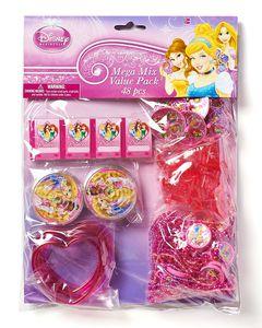 disney princess party favor value pack 8 ct