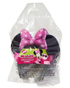 minne mouse bow-tique minnie ears 8 ct